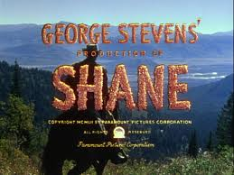 W Shane poster