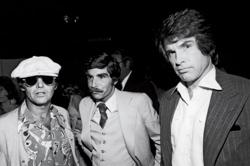Jack Nicholson and Warren Beatty come to Harry's rescue