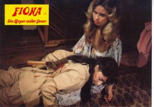 Marlene Willoughby meets a sad end in FIONA ON FIRE, a movie I never wanted to direct.
