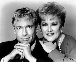 Jack Wrangler, pictured here with his main squeeze singer  Margaret Whiting, would have made a funny, campy Dracula, but the mob's homophobia wouldn't allow it.