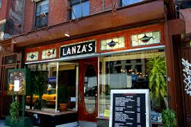 Lanza's Restaurant on First Avenue was kept open for meetings like this one.