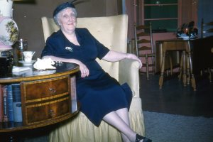 Aunt Rose had some cojones.