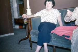 My grandmother married notorious gambler and stage performer Black Jack Dowling.