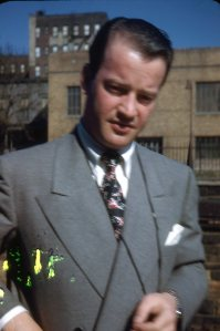 My father - a raconteur to the uninformed.