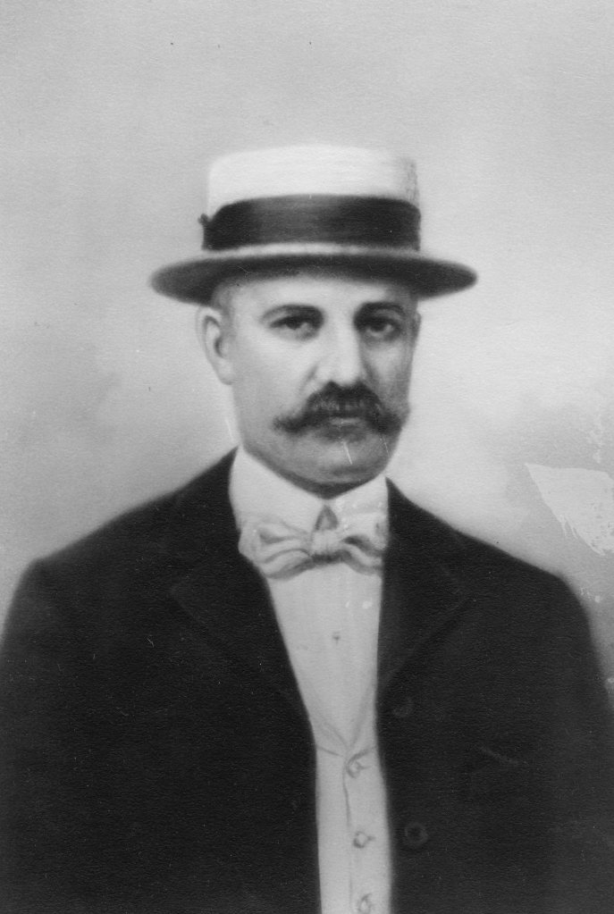 My Great Great Grandfather Edward Stephenson. Looks like a rakish dog, doesn't he?
