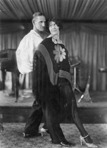My Grandmother performing with her husband and my Grandfather Black Jack Dowling.
