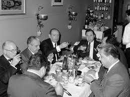 Paul Castellano would whisper into his man's ear, and that message would be silently carried across the room and whispered into the ear of Carmine Galante, who would either shake his head or nod in agreement. Once the agenda had been set, members could speak directly with one another.