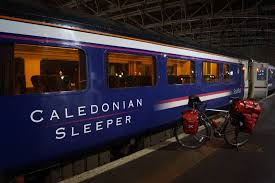 We caught the overnight  Caledonian Sleeper for the trip to Glasgow