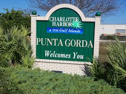 The Navigator's voice guided me over the Peace River Bridge to downtown Punta Gorda