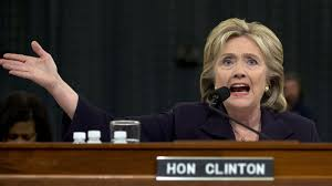 Secretary Clinton appeared before the committee.